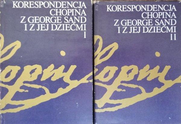 Krystyna Kobylańska • Korespondencja Chopina z George Sand i z jej dziećmi