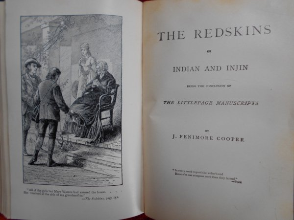 James Fenimore Cooper • The Chainbearer + The Redskins