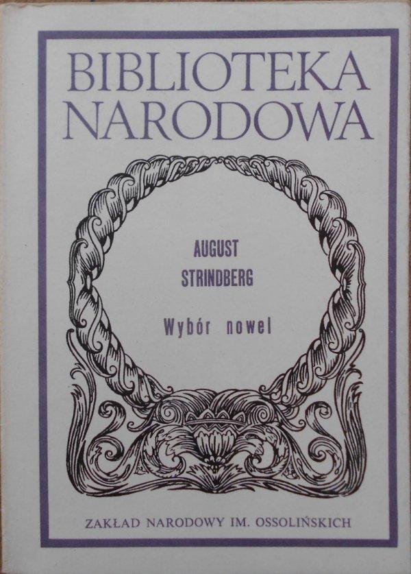 August Strindberg • Wybór nowel