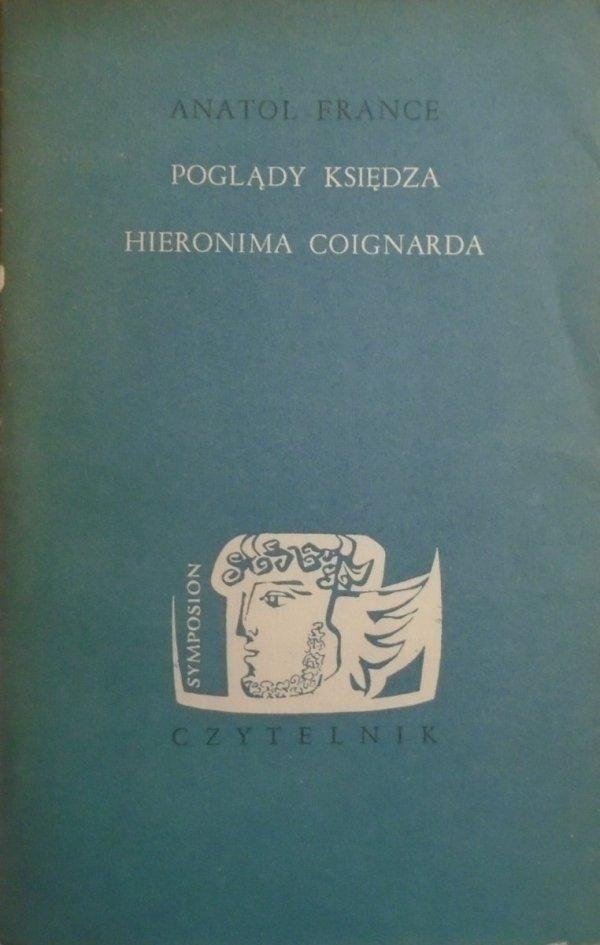 Anatol France Poglądy Księdza Hieronima Coignarda