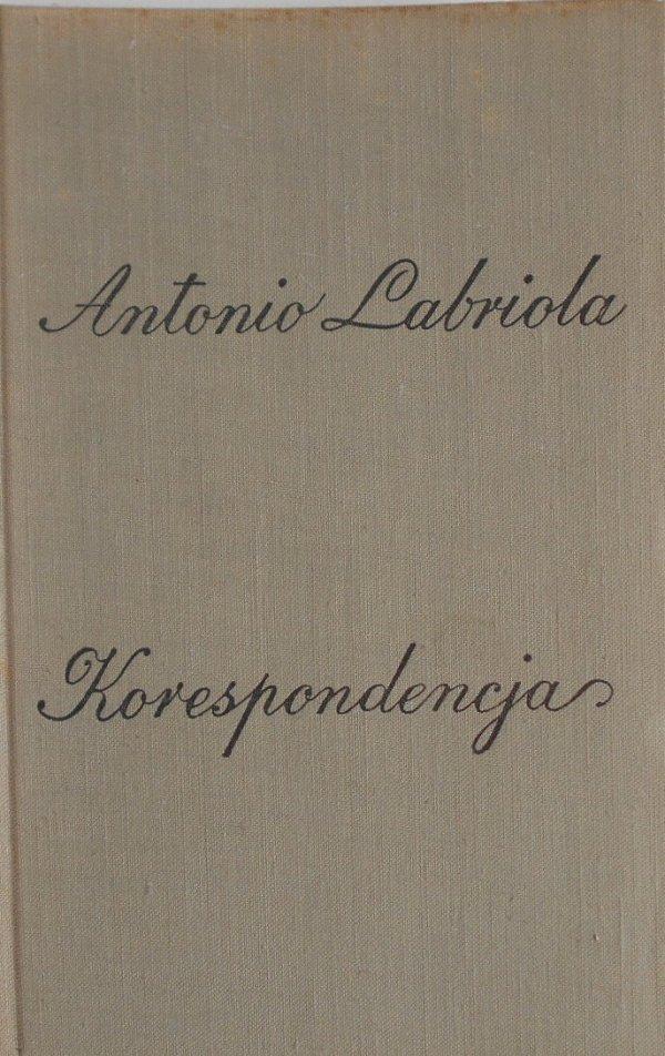 Antonio Labriola • Korespondencja