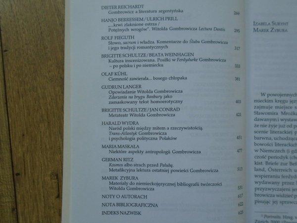 opr. Marek Zybura • 'Patagończyk w Berlinie'. Witold Gombrowicz w oczach krytyki niemieckiej