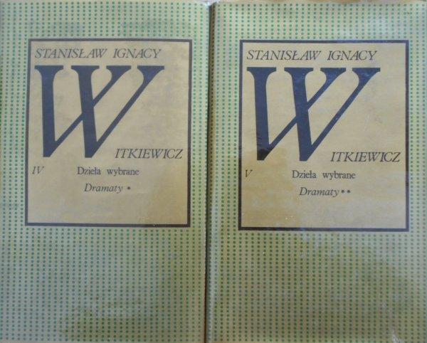 Stanisław Ignacy Witkiewicz • Dramaty tom I/II