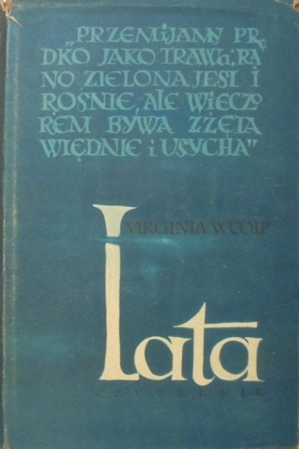 Virginia Woolf • Lata [Jan Miklaszewski]