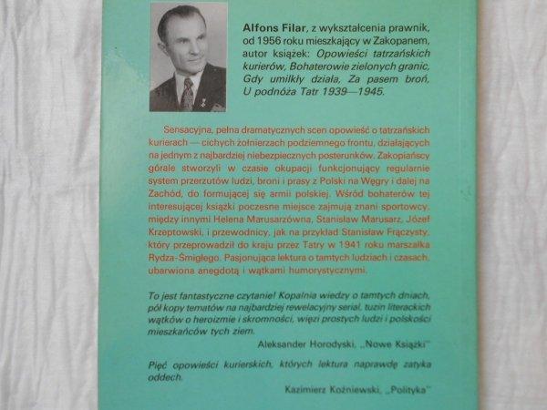 Alfons Filar • Śladami tatrzańskich kurierów