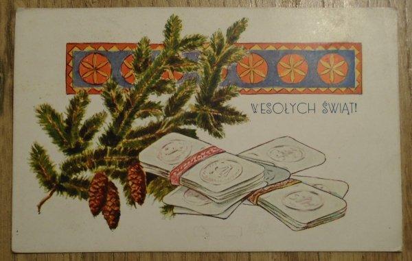 pocztówka Wesołych Świąt