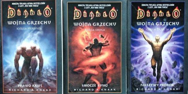 Richard Knaak • Diablo. Wojna Grzechu [komplet]