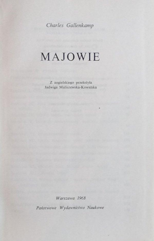 Charles Gallenkamp • Majowie