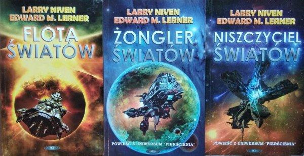 Larry Niven Edward Lerner • Flota Światów [komplet]