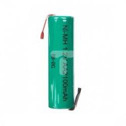 Akumulator 1x Ni-MH HR6 / AA R2U 1,2V 2100mAh /blaszki lutownicze/ 23792