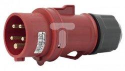 Wtyczka przenośna 16A 5P 400V czerwona IP44 SpeedPRO 13301