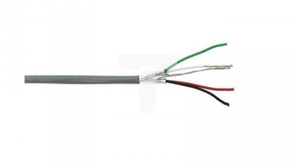 Przewód sterowniczy ekranowany 2x2x22AWG PVC szary 300V BL-8723.001000 /bębnowy/