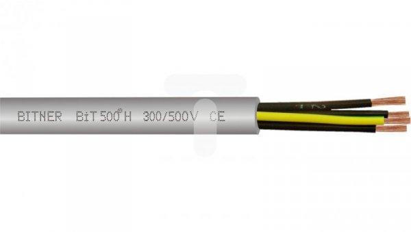 Przewód sterowniczy bezhalogenowy BiT 500-H 3G2,5 300/500V H50089 /bębnowy/