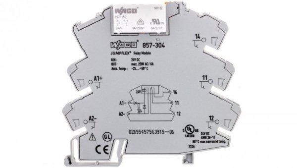 Przekaźnik separacyjny JUMPFLEX 24V DC 10mA 1P 857-304