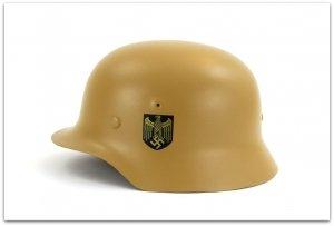 MH124  HEŁM NIEMIECKI M40 KRIEGSMARINE -  DUNKELGELB