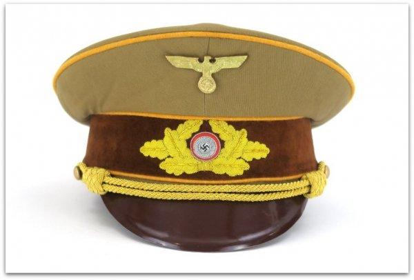 MC016 CZAPKA NIEMIECKIEGO GAULEITERA LIDERA POLITYCZNEGO REICHSLEITUNG NSDAP
