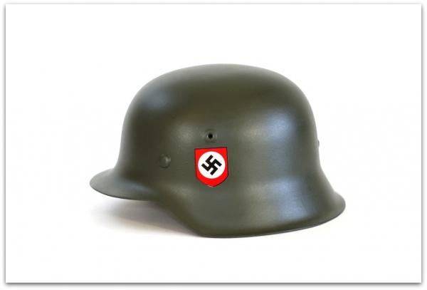 HEŁM M42 WAFFEN-SS - FELDGRAU