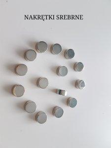 Zapasowe nakrętki do uchwytów typu HYMO (4 szt.) kolory do wyboru