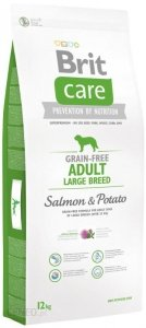 Brit Care Grain Free Adult Large Breed Salmon 12kg