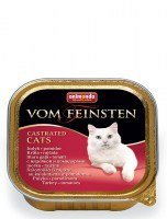 Animonda Von Feinsten Castrated  indyk+pomidory 100g