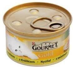 Gourmet Gold mus z królikiem 85g