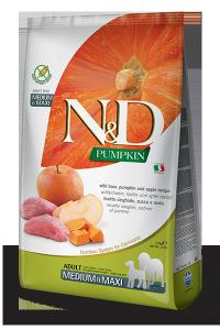 Farmina N&D Pumpkin Boar & Apple Adult Medium  & Maxi 2,5kg