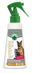 Dr Seidel Repelex Plus utrzymuje psy i koty z daleka 100ml
