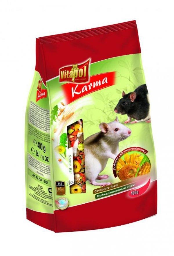 Karma Vitapol pełnoporcjowa dla szczura 500g