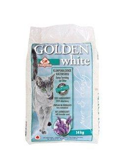 Golden Grey White żwirek bentonitowy dla kotów lawendowy 7kg