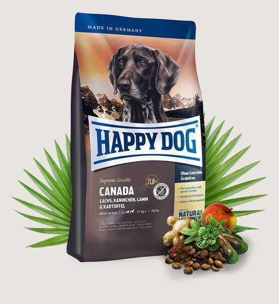 Happy Dog Fit & Well Supreme Canada 4kg