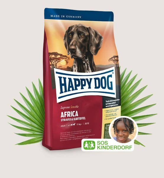 Happy Dog Fit & Well Supreme Africa 12,5kg