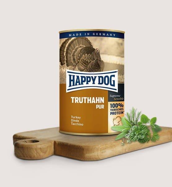 Happy dog puszka Indyk 800g