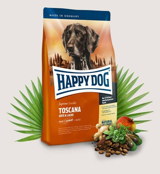 Happy Dog Fit & Well Supreme Toscana 4kg