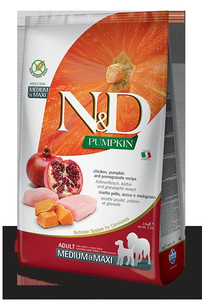 Farmina N&d Pumpkin Chicken & Pomegranate Adult Mini 800g