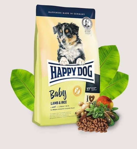 Happy Dog Dog  Baby Jagnięcina i Ryż  4kg