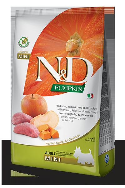 Farmina N&D Pumpkin Boar &Apple Adult Mini 800g