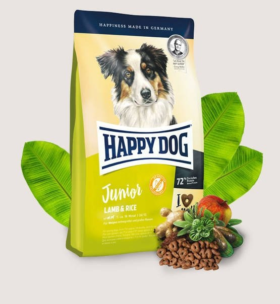 Happy Dog Dog  Junior Jagnięcina i Ryż  1kg