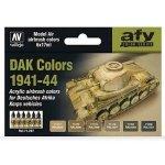 Vallejo 71207 DAK Colors 1941-1944 (6x17ml)