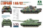 Takom 2004 MAIN BATTLE TANK LEOPARD 1 A5/C2