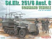 Dragon 6206 Sd.Kfz. 251/6 Ausf. C Command Vehicle (1:35)