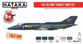 Hataka Hobby HTK-AS111 Yak-38/38M Forger paint set (6x17ml)