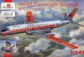 Amodel 01469-1 Soviet Passenger Aircraft NATO code CAMEL-A (1:144)