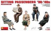 MiniArt 38006 SITTING PASSENGERS '30-'40s 1/35