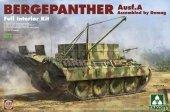 Takom 2101 Bergepanther Ausf. A (full interior) 1/35