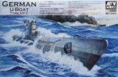 AFV Club 73503 German U-Boat Type VIIC