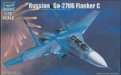 Trumpeter 01645 Russian Su-27UB Flanker C Fighter (1:72)
