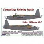 AML M73042 Vickers Wellington Mk.I - Camouflage Painting Masks 1:72