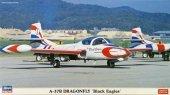 Hasegawa 02072 A-37B Dragonfly Black Eagles (2 plane set) 1/72