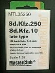 MasterClub MTL-35250 Tracks for Sd.Kfz. 250 1/35