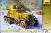 Zvezda 3546 BA-3 mod. 1934 Soviet WW2 Armored Car (1:35)